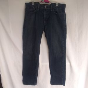 Levi's Strauss & Co Dark Wash Blue Jeans